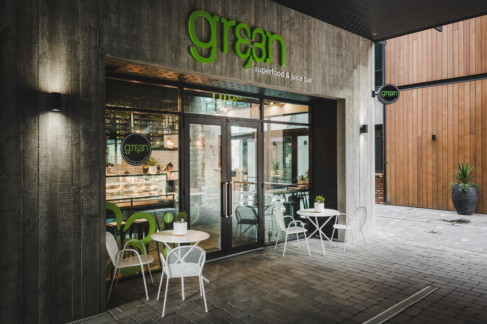 Nelson gre3n superfood juice bar christchurch for Superfood bar